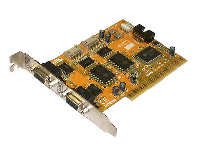 4056WN PCI COM BOARD 1/10 Serial/Parallel Interface PCI 4PORT RS-232 with 16FIFO