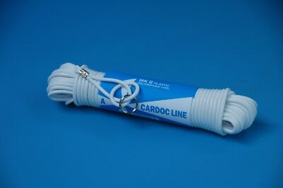 KENT White Plastic Clothes Line (Ring Clipped) 15m