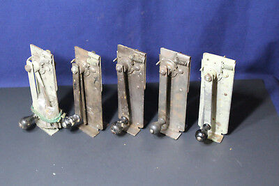 Group Lot of 5  Vintage Speedo Wall Mountable Can Openers For Restoration