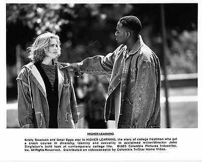 Higher Learning Movie Still B&W Photos Omar Epps Michael Rapaport Kristy Swanson