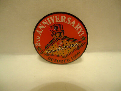 Home Depot 2nd Anniversary Kids Workshop 1999 Lapel Hat Pin