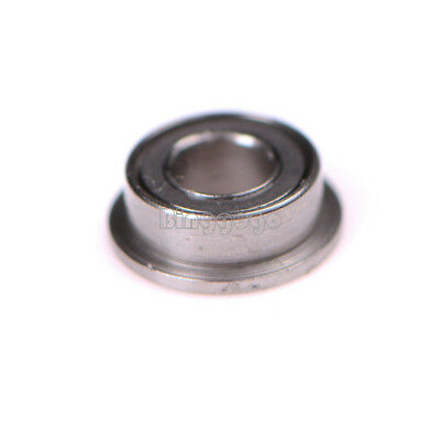 10Stks MF63zz 3mmX6mmX2.5mm Mini Metal Double Shielded Flanged Ball Bearings