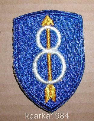 WW2 ERA US ARMY EIGHTH (8th) INFANTRY DIVISION PATCH
