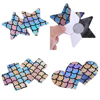 Womens Adhesive Breast Nipple Cover Lift Sticker Tape Bra Pad Patch Disposable