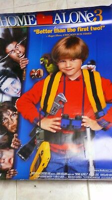 HOME ALONE 3  Movie Poster 1993 Original 27x39 get one free w/ order!
