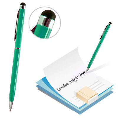 Green 2 In 1 Stylus Ball Pen Touch Screen For Apple Iphone 4S 4 Ipad 3 2 Tablet
