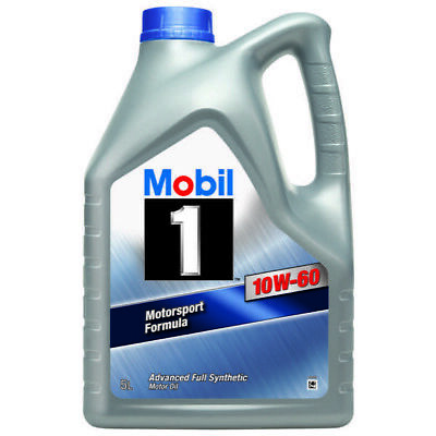 Mobil 1 Extended Life 151069 10w60 Fully Synthetic Car Engine Oil 5L Litre