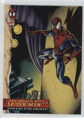 1994 Fleer Marvel Cards The Amazing Spider-Man #129 Powers For Profit! Card 1sc