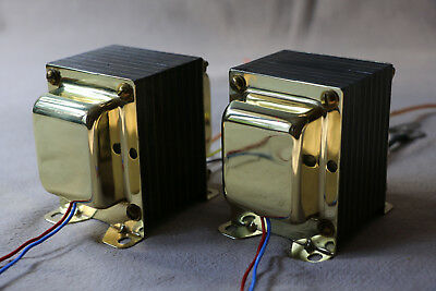 Pair MAGNEQUEST TFA-2004 OUTPUT TRANSFORMERS for 300B, 2A3..  amplifier project