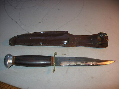 """Vintage Fixed Blade """"Original Bowie Knife"""" 76R Made In Germany"""