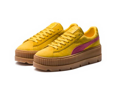 2a33f150510 NEW WOMEN S PUMA Cleated Creeper Suede Fenty Rihanna Sneaker 366268 ...