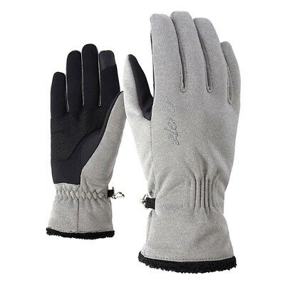 Ziener - Ibrana touch Lady glove - grey melange