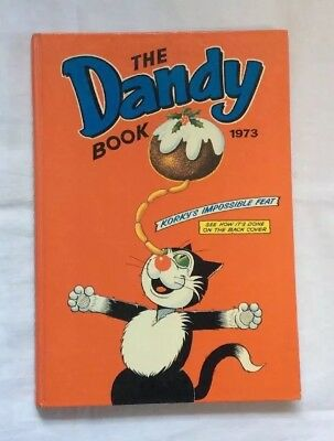 THE DANDY BOOK ANNUAL 1973 In Very Good Condition
