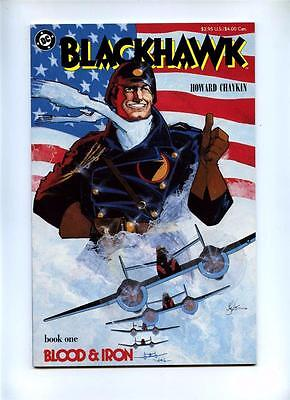 Blackhawk #1 to #3 - DC - 1988 - VFN/NM to NM - Graphic Novels Complete Set