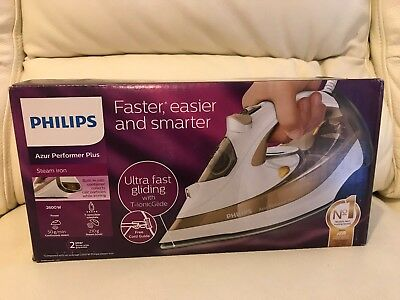 Philips Azur Performer Plus Steam Iron Gc4526/17 0.3L 2600W New