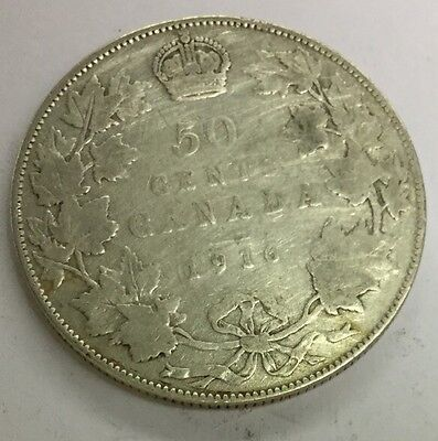 1916 Canada 50 Cents