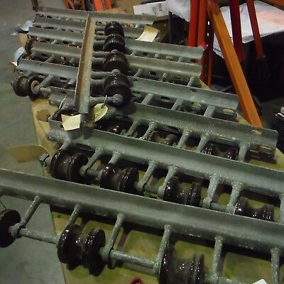 """Electrical Utility Pole Line Secondary Power Rack 28"""" 29"""" or 34"""" w/Rollers 9/LOT"""