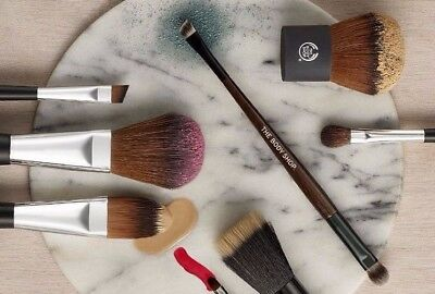 The Body Shop Make Up Brushes Various 12 Different Type Unused Brand New Sealed