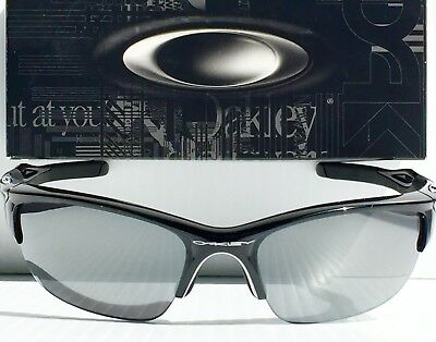 1c5a1200535 NEW  Oakley HALF JACKET 2.0 BLACK w Black Iridium Lens Sunglass oo9144-01