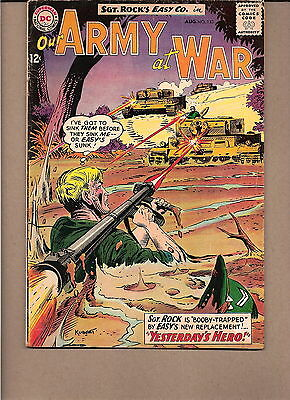 "Our Army At War  #133 1963  Dc  Fn/vg  ""sgt. Rock's-Easy Co.""kubert"