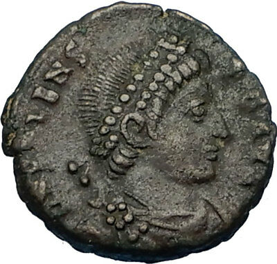 "VALENS ""Last True Roman"" 364AD Authentic Ancient Roman Coin VICTORY i65723"
