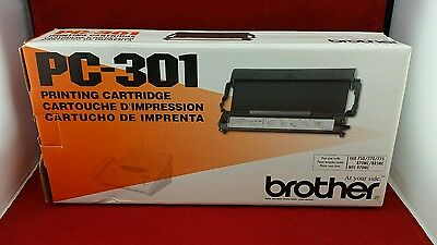 BROTHER pc-301 Printing cartridge Brand New Fax-750/770/775/775Si/870MC/885MC