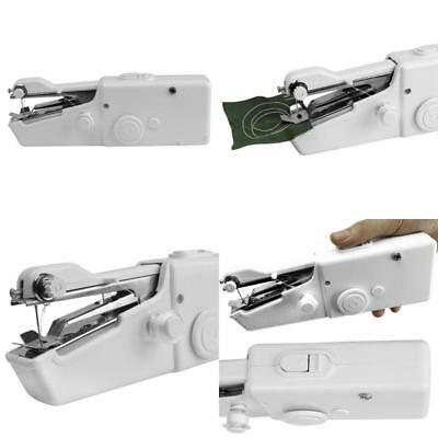 Sewing Machine Portable Mini Handheld Electric Household Stitching Tool Easy Use