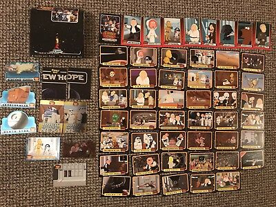 FAMILY GUY STAR WARS CARDS 10 Chase Inserts + COMPLETE BASE SET 50  By INKWORKS