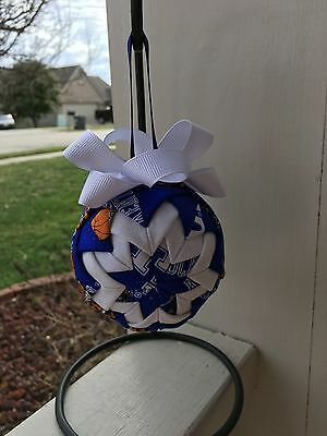University Of Kentucky Quilted Ornament