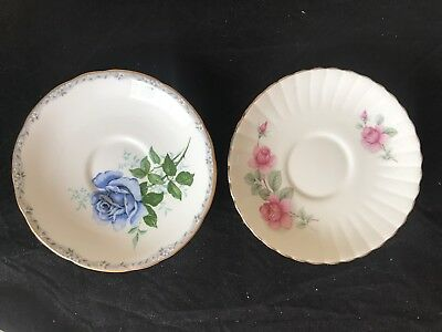 Royal Stafford Saucers Fine Bone China Replacements 'roses To Remember'