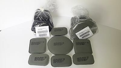 "USGI ACH MICH MILITARY ARMY Helmet Pad Set 7-Piece 3/4"" Foliage Green"