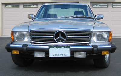 1980 Mercedes-Benz 450SLC W107 series 1980 Mercedes-Benz 450SLC W107 series