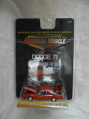 1971 Dodge Charger 1/64 American Muscle Ertl Collectibles Diecast Rare