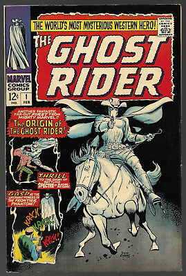 Ghost Rider #1......Marvel Comics 1967...Western...VF/NM 9.0