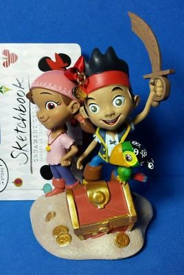 Disney Store Sketchbook Ornament Jake and the Neverland Pirates 2014 New