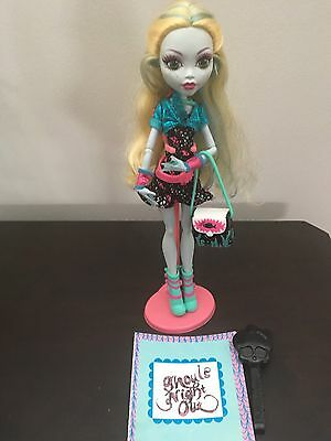 Monster High Ghouls Night Out Lagoons Blue