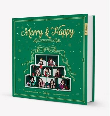 TWICE - Merry & Happy [Merry ver.] CD+Pre-order Benefit+Poster+Free Gift