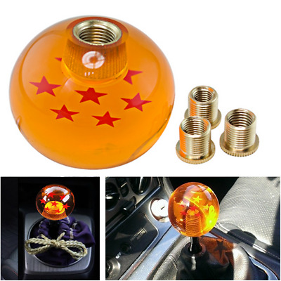 Dragon ball Z rare custom 54mm shift knob 3 star M10x1.5  other avali