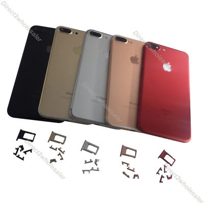 """For iPhone 7 Plus 5.5"""" """"Back Housing Battery Cover Middle Frame & Sim Card Tray"""