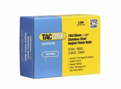 TACWISE 1223 38mm S/S 16g Angled Brads Dewalt DCN660 Paslode IM65