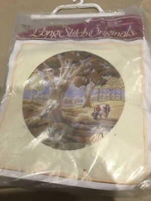 SEMCO LONG STITCH ORIGINALS ~ QUIET MORNING ~ KIT # 3099 Unused