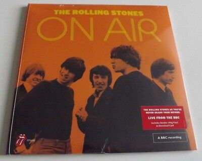 The Rolling Stones On Air live At The BBC Heavyweight Double Vinyl LP + D/load