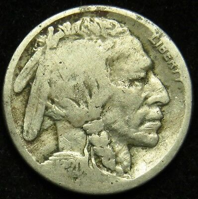 1920 S Buffalo Indian Head Nickel AG About Good (B05)