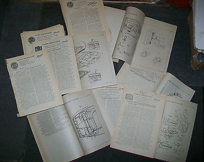 AIRCRAFT RELATED  PATENT 1940's 1950's & 1960's (ONE HUNDRED) inc JET ENGINES