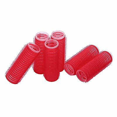 42 pcs x 15mm Small Self Grip Hair Velcrow Rollers Salon Hairdressing Curlers
