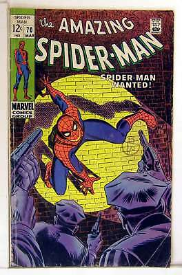 Amazing Spider-Man (Vol 1) # 70 sehr gut (VG) RS003 Marvel Comics Silver Age