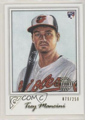 2017 Topps Gallery Private Issue 84 Trey Mancini Baltimore Orioles Baseball Card