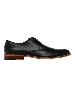 NEW Trent Nathan Mackay Lace Up Derby Black