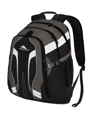 NEW High Sierra Zooka Laptop Backpack Black
