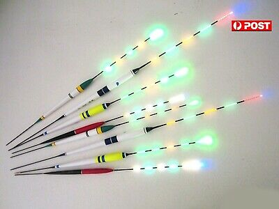 LED Luminous Electronic Saltwater Upright night Fishing Float + Battery & more..